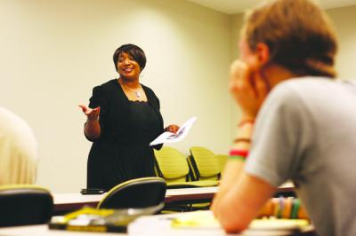 Ethel Young-Minor, associate professor of English and African American studies